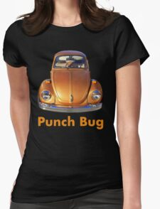 Punch Bug Womens Fitted T-Shirt