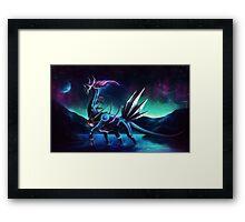 Pokemon Legendary Dialga Framed Print