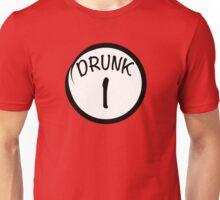 DRUNK 1 FUNNY DESIGN Unisex T-Shirt