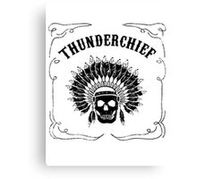 Shotgun Sawyer - Thunderchief Black Cover Canvas Print