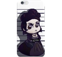 Evil Queen mugshot iPhone Case/Skin