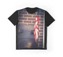 Canonsburg, PA: Flag on an Oil Barrel Graphic T-Shirt