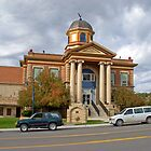Weston Court House, Newcastle, Wyoming, USA by Margaret  Hyde