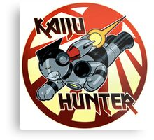 Kaiju Hunter Metal Print