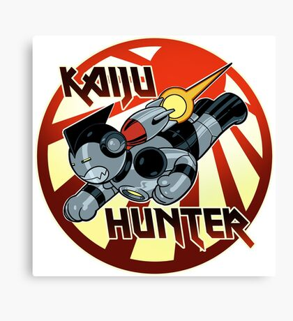 Kaiju Hunter Canvas Print