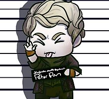 Peter Pan Mug Shot by Jeh-Leh-Loh