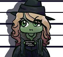 Wicked Witch Mug Shot by Jeh-Leh-Loh