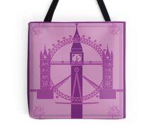 London has gone purple! Tote Bag