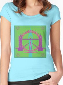 Finding London Women's Fitted Scoop T-Shirt