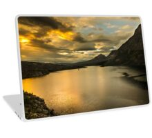 Golden Sunrise Laptop Skin