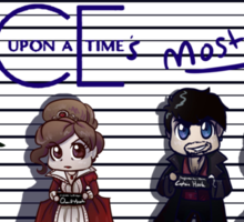 Once Upon A Time's Most Wanted Sticker