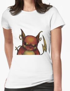 pokemon custom riachu awesome Womens Fitted T-Shirt