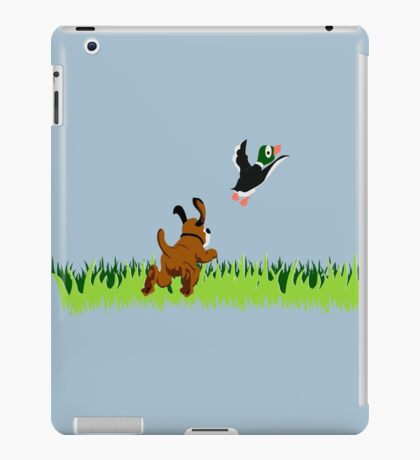 Who's Up for a Duck Hunt? iPad Case/Skin