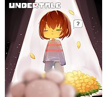 Art of Undertale Videogame Photographic Print