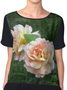 Beautiful flowers. Chiffon Top