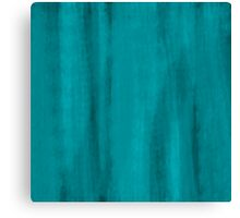 raw teal Canvas Print