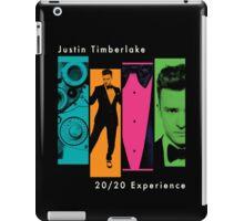 Justin Timberlake 20/20 Experience in Darker Colors iPad Case/Skin