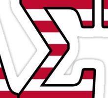 Alpha Sigma Tau (AST) America Sticker