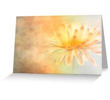 Golden Marigold Greeting Card