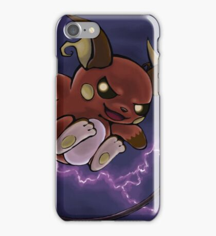 pokemon custom riachu iPhone Case/Skin