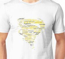 Hurricane Lyric Silhouette Unisex T-Shirt