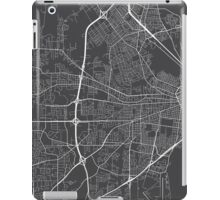 Mobile Map, USA - Gray iPad Case/Skin
