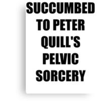Succumb to the Pelvic Sorcery Canvas Print