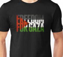 Freedom For Gaza Unisex T-Shirt