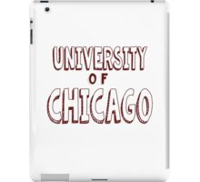 University of Chicago iPad Case/Skin