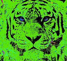 Green Tiger Dreams by brett66