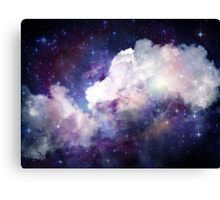 CLOUDS AND STARS Canvas Print