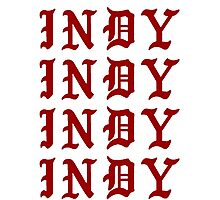 LIFE OF INDY Photographic Print