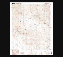 USGS TOPO Map Arizona AZ Lone Star Mountain 312147 1985 24000 Unisex T-Shirt