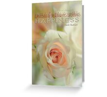 Happiness Colour © Vicki Ferrari Greeting Card