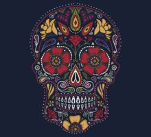 Day of the Dead Sugar Skull Dark Kids Tee
