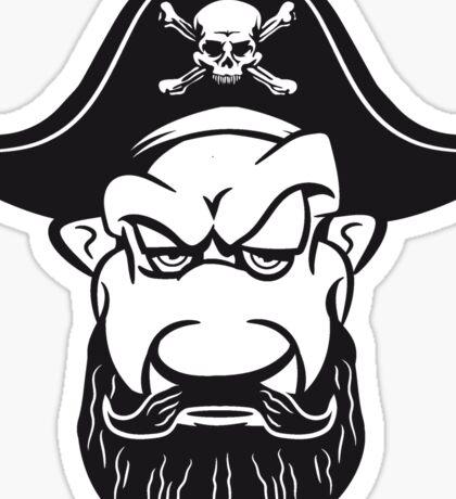 Pirat cool dreispitz  Sticker