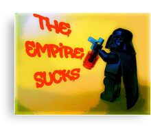 Darth Vader switches sides! Canvas Print