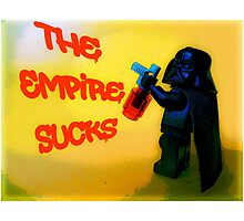 Darth Vader switches sides! Photographic Print