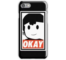 "Ness OKAY (""OBEY"") iPhone Case/Skin"