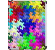 Psychedelic Rainbow Dragon Fractal Pattern iPad Case/Skin
