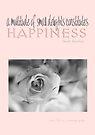 Happiness Pink © Vicki Ferrari Photography by Vicki Ferrari