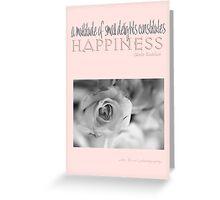 Happiness Pink © Vicki Ferrari Photography Greeting Card