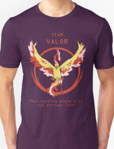 Team Valor Slogan T Unisex T-Shirt
