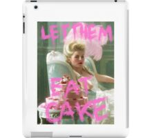 let them eat cake iPad Case/Skin