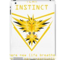 Team Instinct Slogan T iPad Case/Skin
