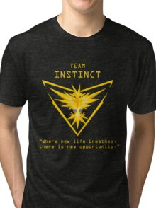 Team Instinct Slogan T Tri-blend T-Shirt