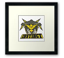 Team Instinct Sports T Framed Print
