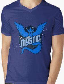 Team Mystic Sports T Mens V-Neck T-Shirt