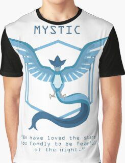 Team Mystic Slogan T Graphic T-Shirt
