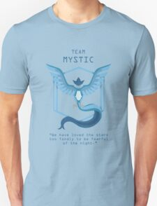 Team Mystic Slogan T Unisex T-Shirt
